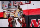 The North Greenville men's basketball team upset No. 20 Belmont Abbey at home in Hayes Gymnasium last week.