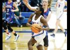 The Byrnes girls basketball team improved to 9-1 in the region with a win over Riverside last week.