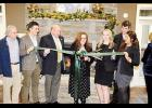 The Residences at Century Park apartments celebrated its recent opening with a ribbon cutting ceremony. Pictured, from left, are: Tom Taft, owner; Thomas Taft; Jack Lucas, chairman, Greer Chamber of Commerce; Carol Mounce, property manager; Stetson Moelman, assistant manager; Lovannie Babb, leasing consultant; and Michael Anderson.