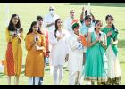 Local community members celebrated India's Independence Day on August 22 with a private event at Greer City Park.