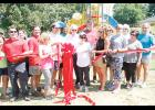 The most recent Leadership Greer class cut the ribbon on a new community playground on Saturday.
