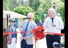 Jim Benson of Benson Automotive cut the ribbon on the City of Greer's newly renovated Kids Planet at Century Park last Friday. Benson was the project's main donor.