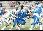Byrnes couldn't keep up with Dutch Fork Friday at Nixon Field, falling 56-25.