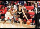 Sam Gravley and the Greer boys basketball team fell at the buzzer to Dorman last week.
