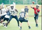The Greer football team will suit up in full pads Wednesday for the first time in August.