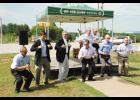 Lowes Foods celebrated its groundbreaking on Brushy Creek Road in Greer in July with a celebration that included local officials performing 'The Chicken Dance.'
