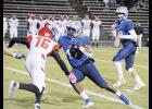 Rahjai Harris led Byrnes to a 48-34 win over Nation Ford last Friday during round one of the Class AAAAA state playoffs.