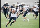 The Greer High football team capped spring practice sessions with scrimmage at Dooley Field last Friday night.