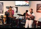 Jazzy Trinity gave a live perfomance at Reubens in Piedmont on Saturday night.