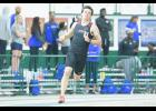 The North Greenville Indoor team recently competed at events in New York.