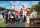 Dr. Vanda Cecco cut a ribbon to celebrate the 10-year anniversary of A Better Way Chiropractic at the 916 Poinsett Street in Greer.