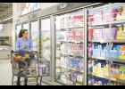 ALDI's new concept stores feature energy-saving refrigeration.