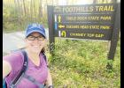 Alison Rauch is preparing to complete the Trailblaze Challenge hike for Make-A-Wish.