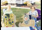 Dozens attended the inaugural Art in the Park event last month in downtown Lyman.
