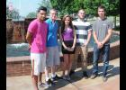 Bonds students are competing in the SkillsUSA national competition in Kansas City this week. From left to right: Angelo Hernandez, Colton Seaver, Hayley Lampinen, Jonathan Schmal and Dillan Stenersen.