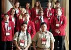 Students from Bonds Career Center competed at the SkillsUSA national competition in Louisville, Kentucky recently. They are pictured with students from Enoree Career Center and Donaldson Career Center.