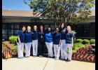 Passed the test: Several Riverside High and Area Health Education Center students passed the Certified Nursing Assistant Exam recently. Pictured from left to right are: Anika Koo, Kenady Mazyck, Maddy Smith, Amanda Abrams, RN, Lindsay Young, Varshitha Karveti, Omika Merchant and Victoria Phillips.