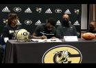 Greer's Jaydon Collins will play his college football at Wake Forest University, signing a National Letter of Intent last week.