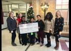 Community in Schools received $2,000 from the CresCom Bank Foundation.