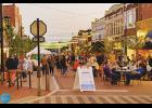 Dine on Trade, a popular downtown Greer event, will return each Friday in April.