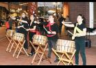 This Drum Circle performed in downtown Greer on Friday evening during the final Busk at Dusk event in March.