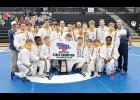 The Eastside wrestling team claimed its 15th state championship last Saturday with a win over Hartsville, 62-15.