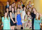 Pictured from back, left to right, are Marc Western, Gabby Leonard, Jonathan Coggins, Wilton Smith, Addison Callahan, Hannah Pendergrass, Shadda Corwin, Taylor Holton, Savannah Reeves, Isabel Greene, Abrianna Hill, Heather Fitch, Charlee Wilkerson, Hannah Cox, Hailey Chapman, Alicia DiPerri, Karlee Gibson, McKylie Bowen, Stephanie Casey-Collins and Emily Steadman.
