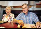 """Jim and Carolyn Gilliam say they frequent Greer's Fatz Café, recalling 25 years of good service with the restaurant. Jim said he enjoys the """"good food"""" and """"friendly people."""""""