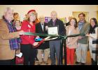 Greer Relief cut the ribbon to celebrate the grand opening of its annual Christmas Morning Shoppe on Wednesday, Dec. 12, at the Greer Mill.