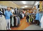 James Gregory has operated his boutique in Greer for the last 50 years.