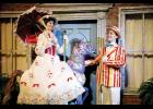 Emily Grove stars as the iconic Mary Poppins alongside Samuel Floyd as Bert during Greenville Little Theatre's production of the Disney classic.