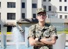 Greer's Jonathan Morgan is serving as a Navy yeoman.