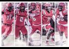 Five North Greenville football players were named to All-Conference teams last week. Those players include: Chauncy Haney, Johnny Worthy, Jordan Helms, Aaron Watson and Dantevian Byrd.