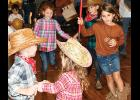 Hoedown: Children and families enjoyed square dancing during Pelham First Baptist's Hoedown for the Paydown fundraiser on Saturday.