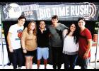 Danielle Potter of Greer (second from the left) got to meet one of her favorite bands in 2012 after one of her first contest wins.