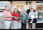 Adrienne MacLeod and her mom Kim Mahaffey, owners of Salon Bellissimo, celebrated their one-year anniversary with family and friends last Thursday at 118 Victoria Street, Greer.