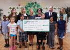 Greer State Bank Foundation recently presented a check to Communities In Schools to benefit programs at Chandler Creek Elementary and Greer Middle School.