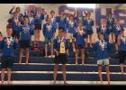The Eastside boys swimming team recently won its sixth state championship.