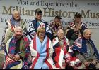 Local veterans will receive hand-made patchwork quilts like the recipients above at an earlier ceremony on Sept. 7 at the Veterans History Museum of the Carolinas.