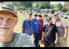 A small group of dedicated military veterans took some time to clean up Greer City Cemetery last week, honoring those who are buried there.