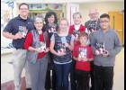 WoodmenLife presented 150 copies of The American Patriots Handbook to Skyland Elementry School recently.