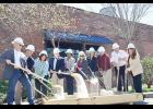 A groundbreaking ceremony was held for Lofts by the Lake last Friday, April 7. The project is an industrial renovation of the 129-year-old Apalache Mill, which will one day become 97 upscale residential apartments.