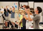 The Blue Ridge High Corps of Cadets has been working on its new production and is hoping for a run at the state championship this fall. The group is led by 16 seniors and Band Director Eric Wells.