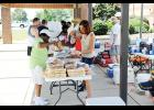 The Duncan Ruritan Club served up BBQ plates during its annual Labor Day cook out at Duncan Elementary School Monday.