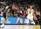 PJ Dozier and the South Carolina Gamecocks knocked off Marquette and Duke last weekend at Bon Secours Wellness Arena, advancing to the Sweet 16 for the first time in program history.