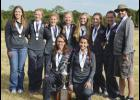 The Riverside Lady Warriors won the Class AAAA title on Saturday with 43 points, 127 points ahead of second place J.L. Mann.