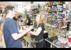 Linda Blair, best known for her role as the possessed child 'Regan' in the film The Exorcist, stopped by Toy Federation on Middleton Way in Greer on Monday to sign autographs and to raise support for the Linda Blair Worldheart Foundation to rescue dogs.