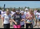 Boosterthon a success: Riverside Middle School wrapped up Spirit Week with the Color Run Boosterthon on March 31. Students, parent 