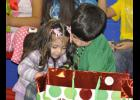 Because of an anonymous donation, during the conclusion of the program each student was given a Christmas present.