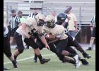 The Yellow Jackets saw their first scrimmage action of the season during a scrimmage against Gaffney at Dooley Field last Thursday. Greer will face Byrnes this Friday during the Byrnes Jamboree.